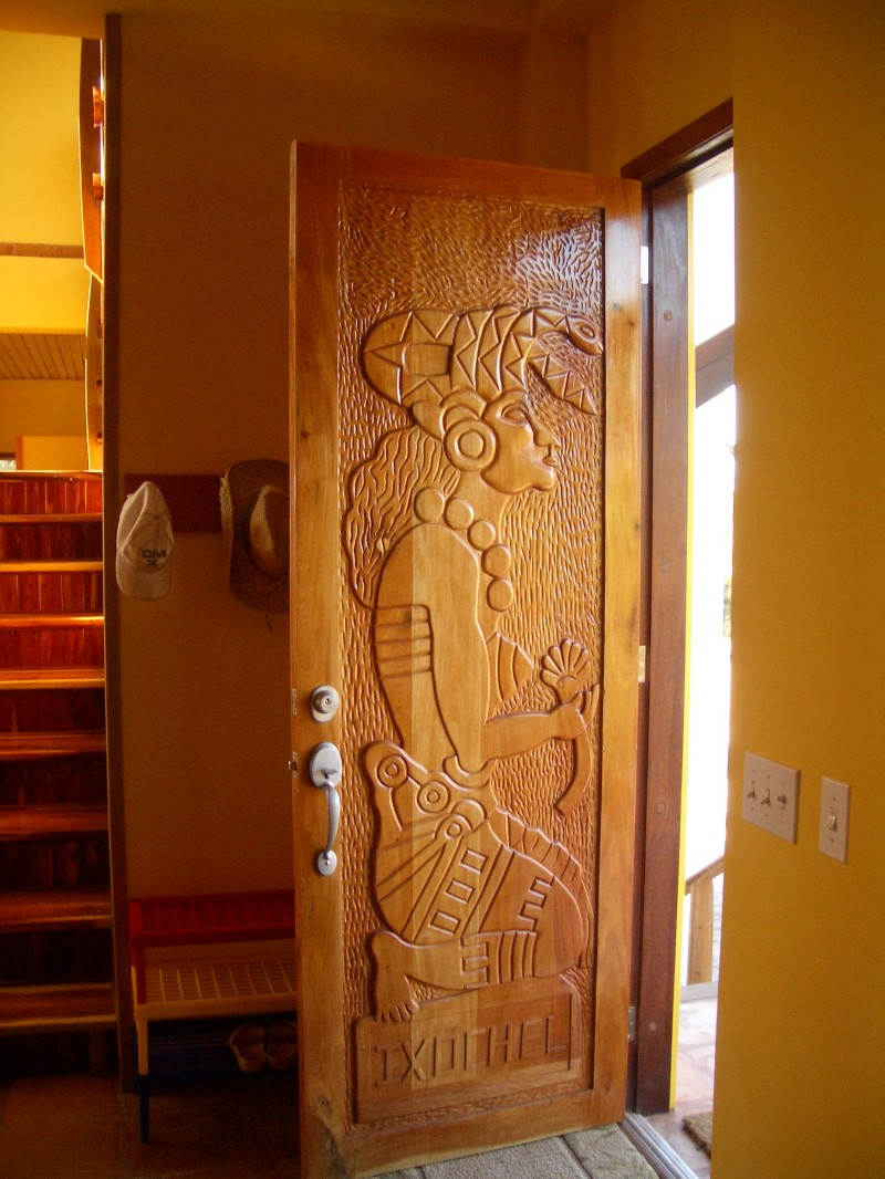 Front door of Casa Corazon